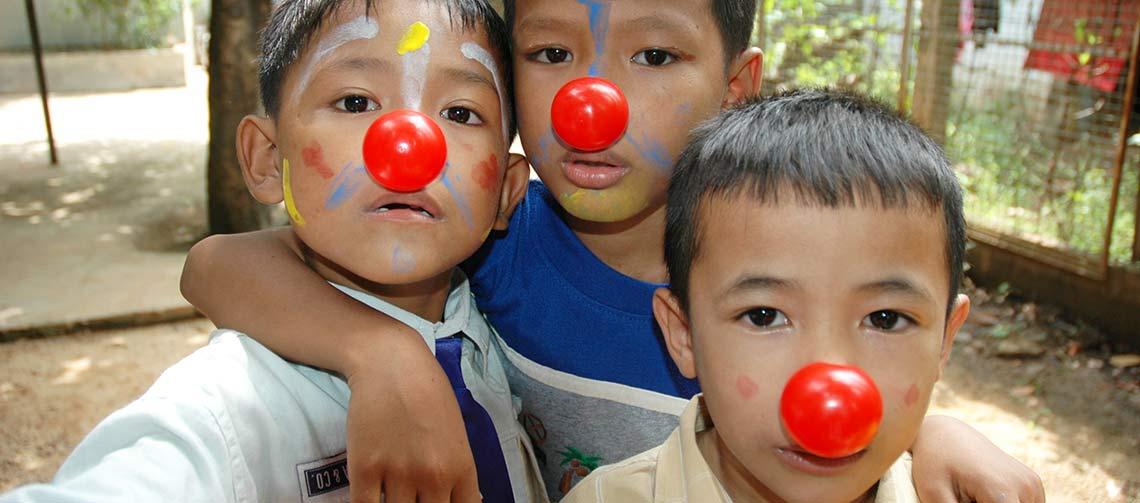 4fa69718513312 Progetto Cambogia - Clown One Italia Onlus